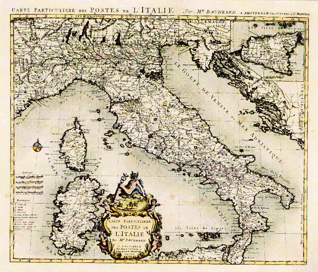 Geographic maps / Carte geografiche